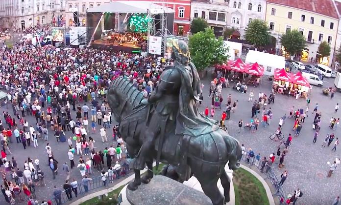 Locuri de desfășurare ale Zilelor Culturale Maghiare din Cluj