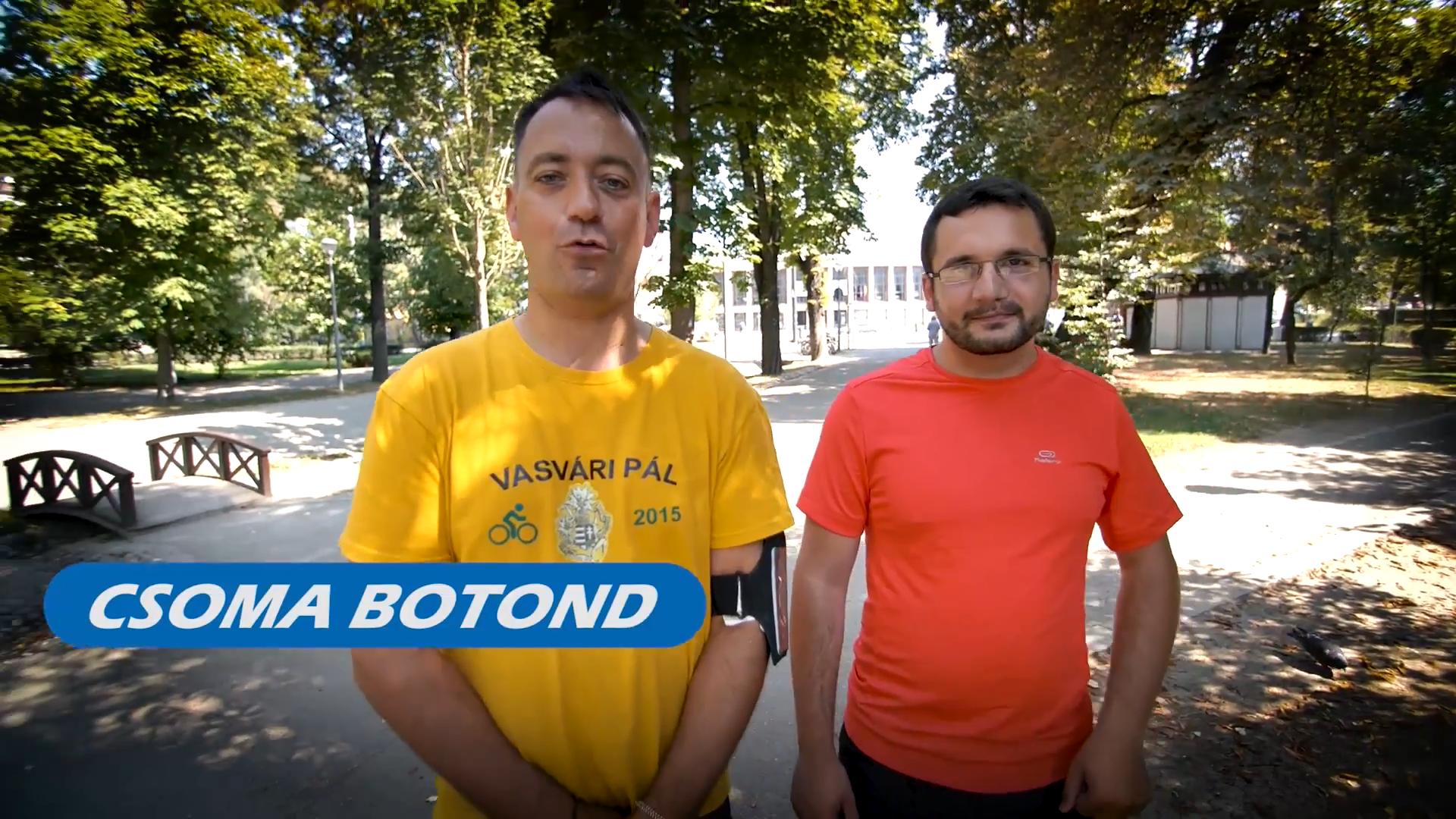 CSOMA BOTOND, FANCSALI ERNŐ- KMN DONATON 2018