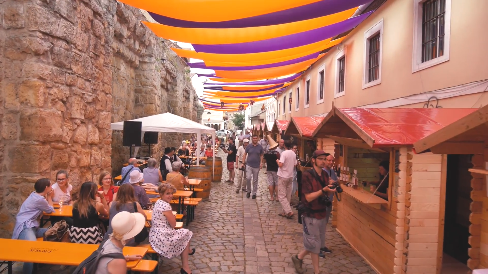 Opening of the Wine Street