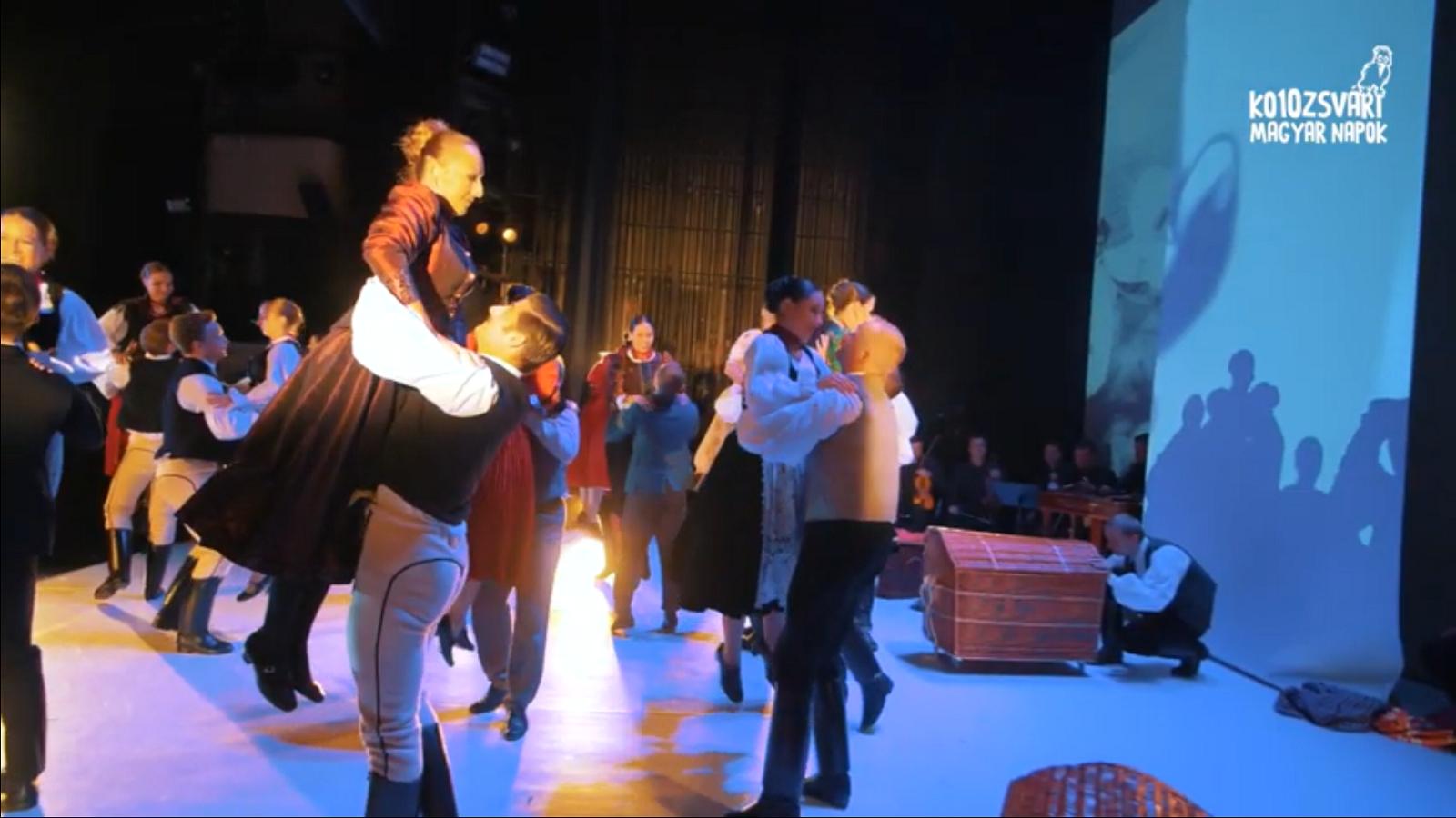10. KMN – Kolozsvári piactéren – a Magyar Állami Népi Együttes tánckarának és zenekarának bemutató előadása