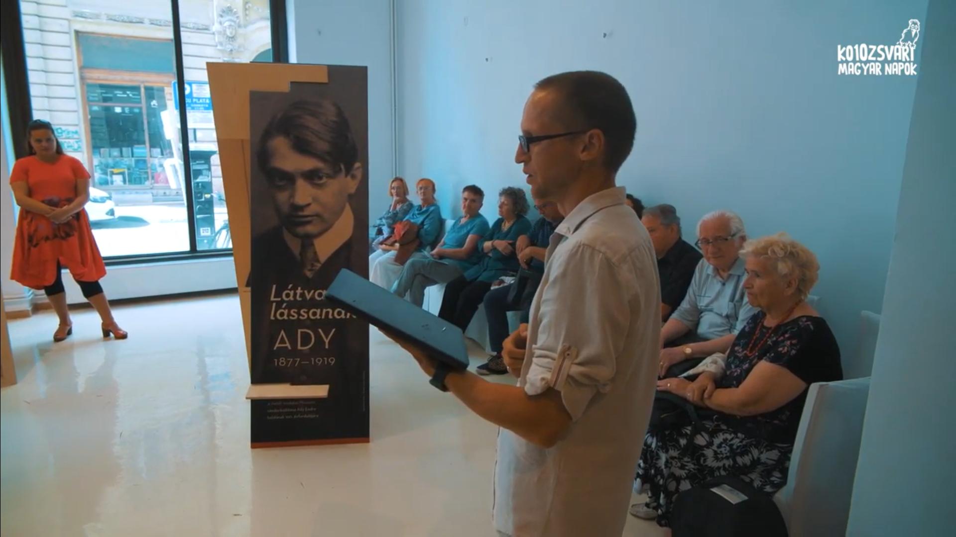 10. KMN – Látva lássanak – Ady Endre vándorkiállítása