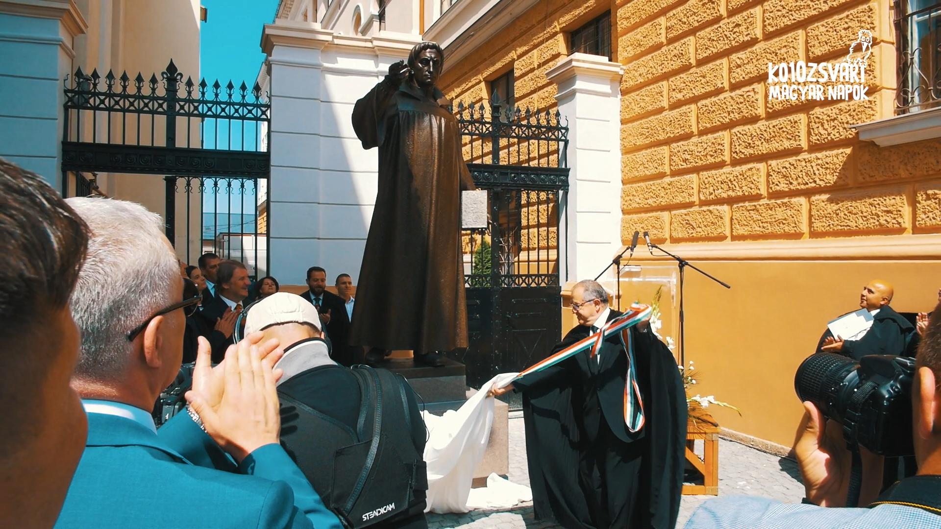 10. KMN – Kolozsvári Magyar Napok – Dávid Ferenc- szobor avatóünnepsége