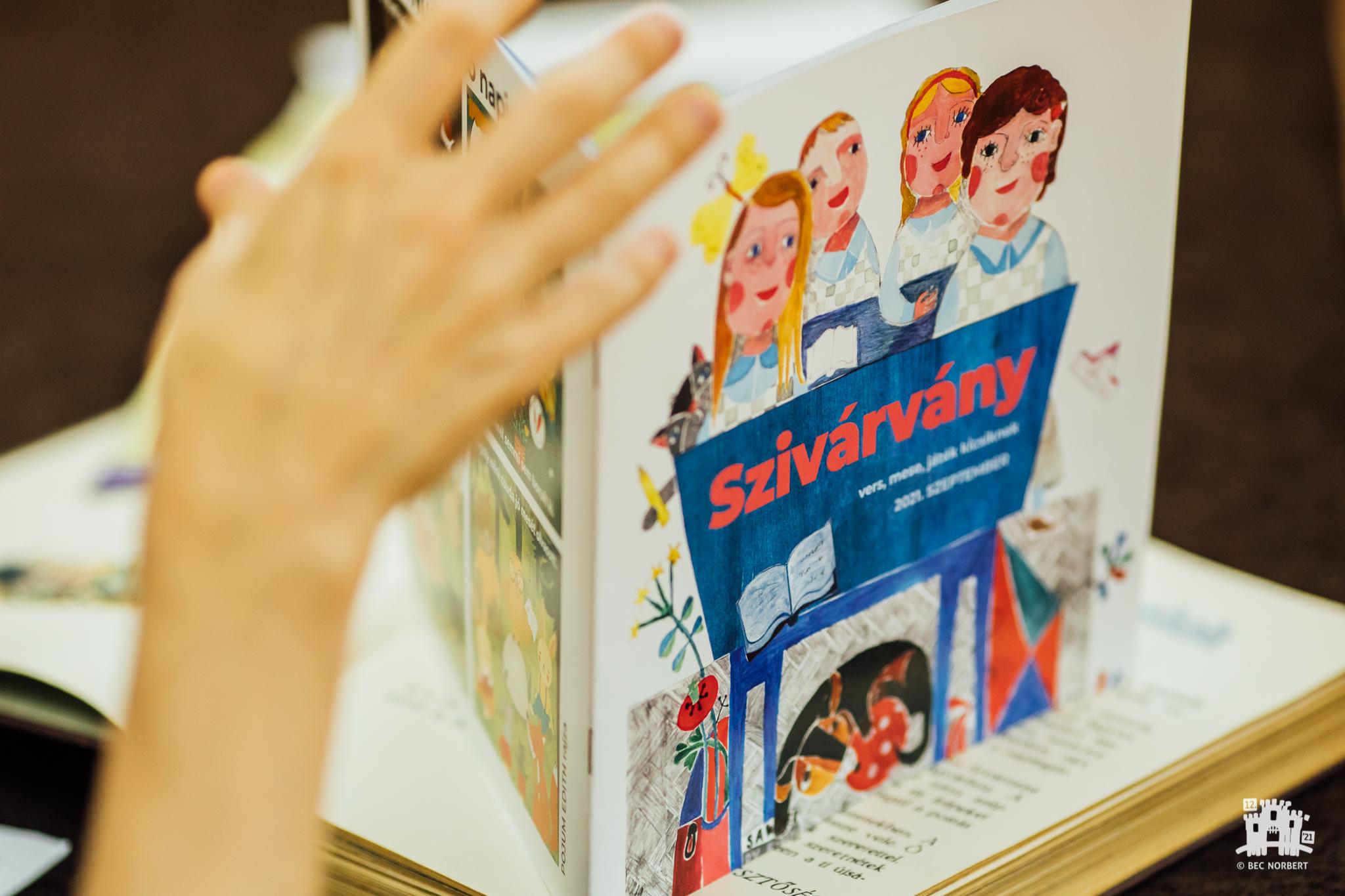 Revista pentru copii Napsugár: ieri şi azi. Conţinut şi redactare