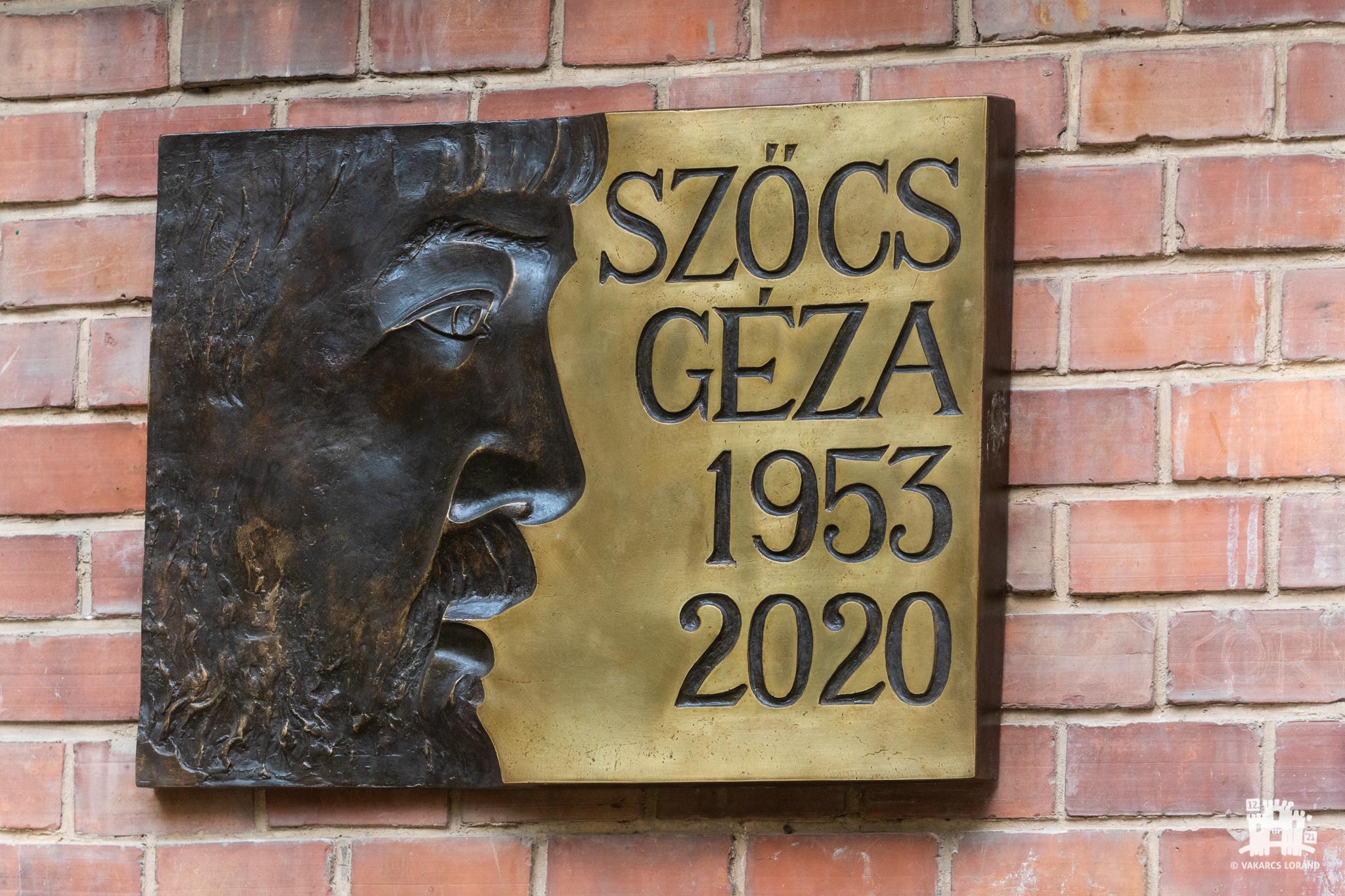 Comemorarea lui Szőcs Géza