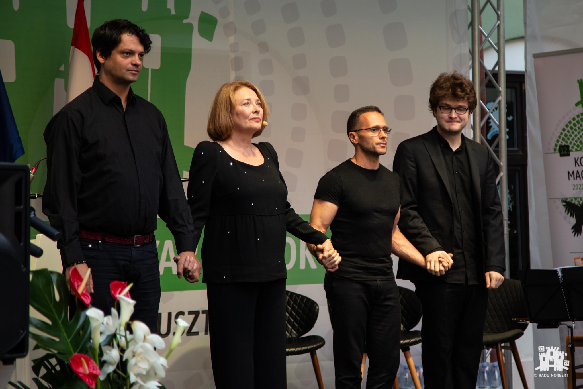 A kolozsvári sétatér – Szőcs Géza-emlékest