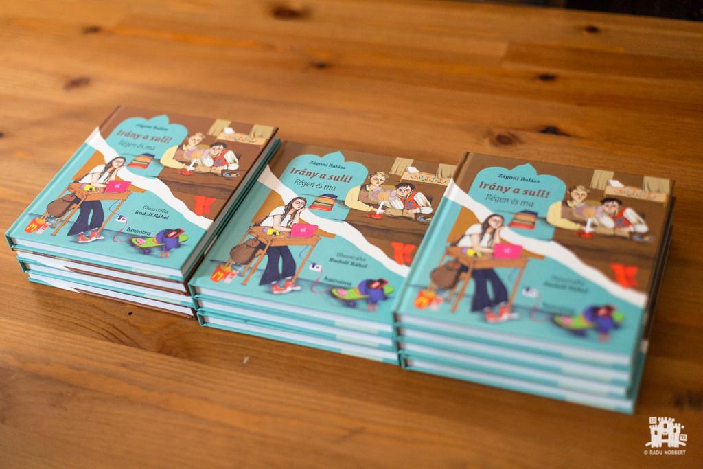Zágoni Balázs: Irány a suli! – gyermekkönyv-bemutató
