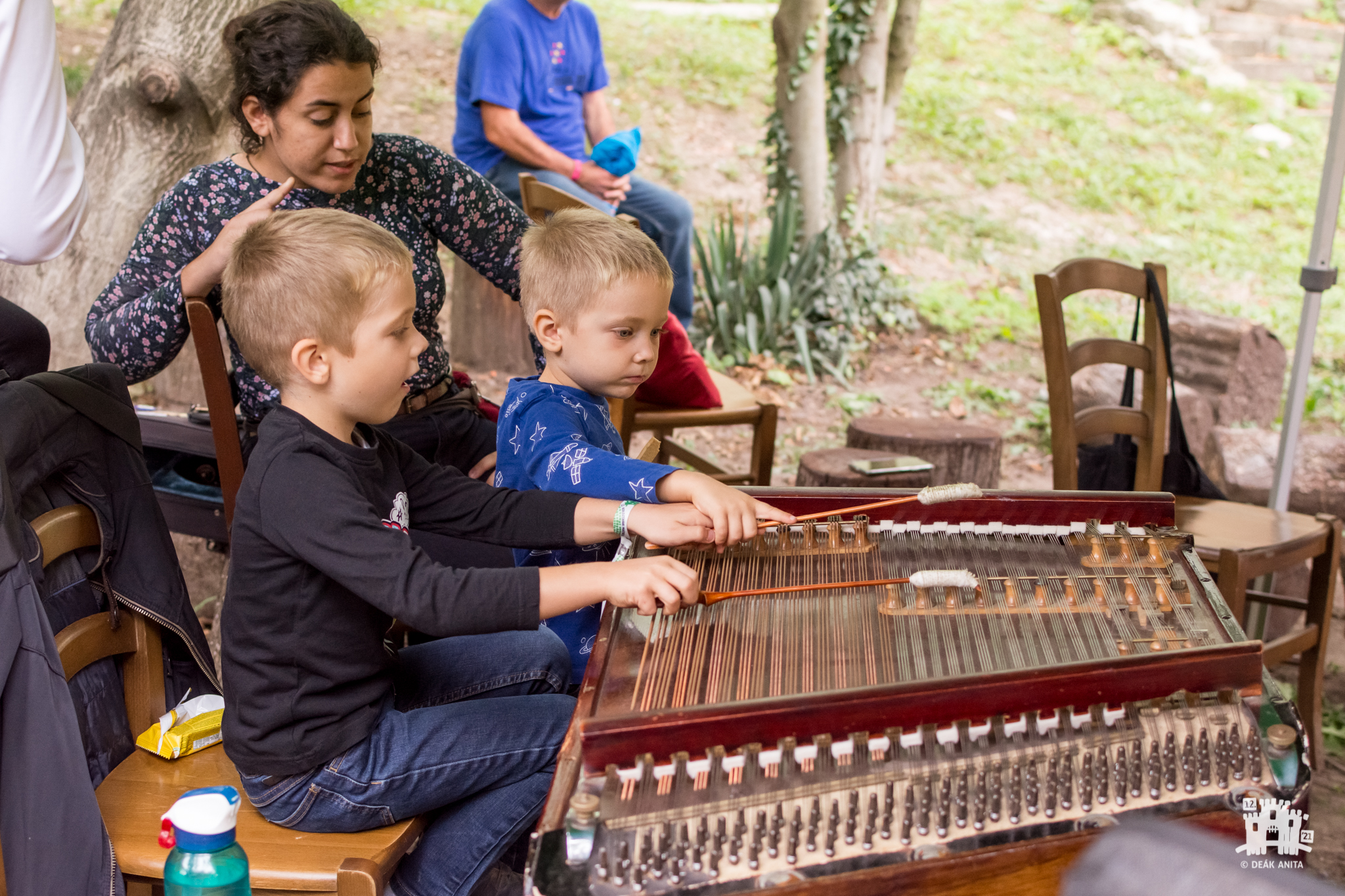 Hangszerek játékosan gyerekeknek