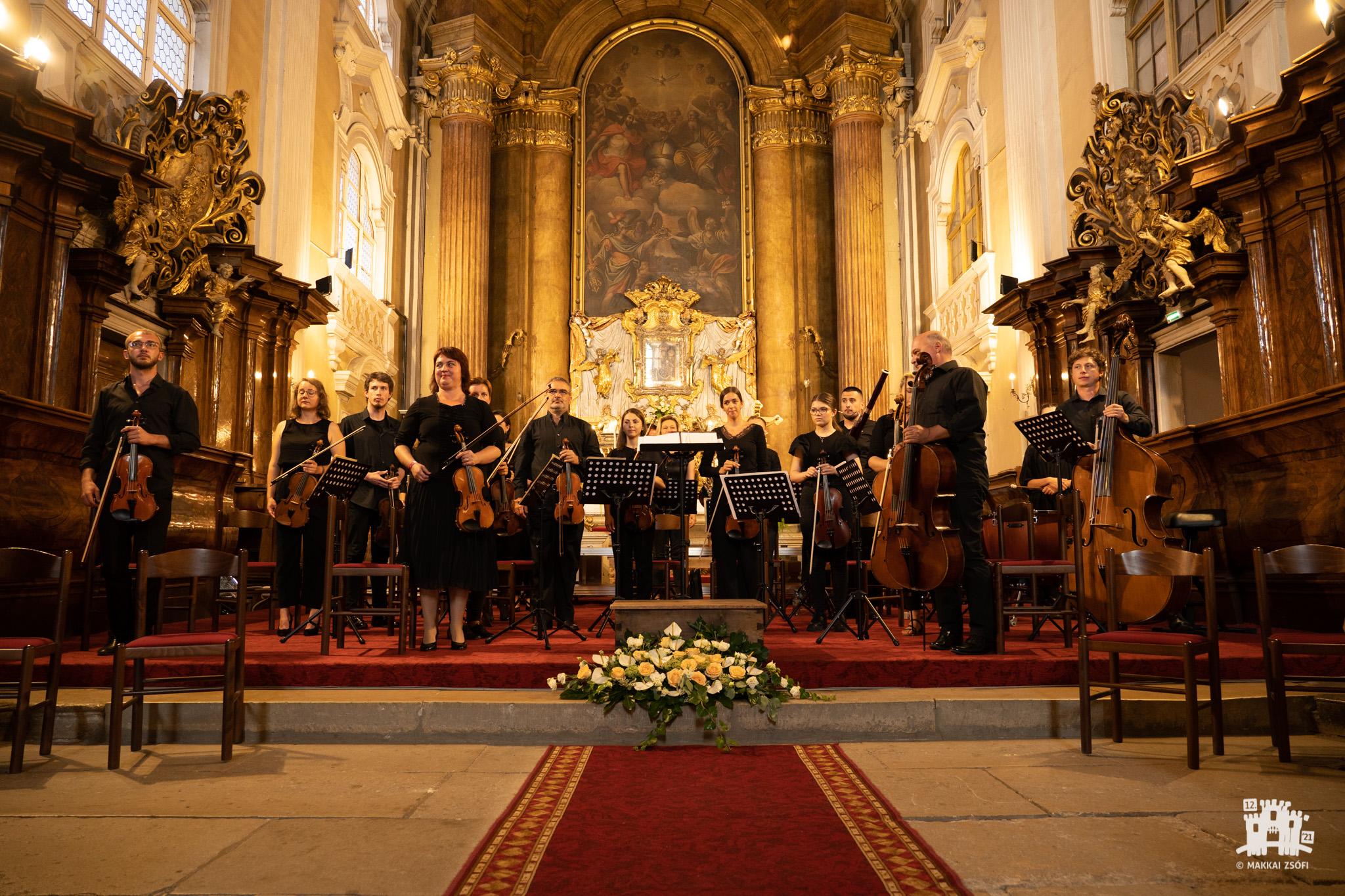 Klausenmusik 2021. A Szent Cecília kórus és zenekar hangversenye