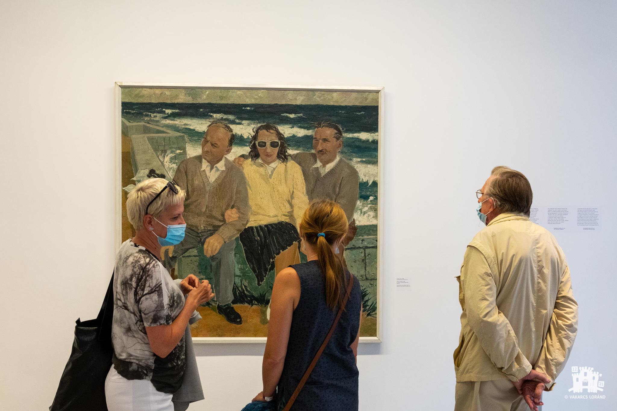 Nagy Albert retrospektív kiállítás – megnyitó
