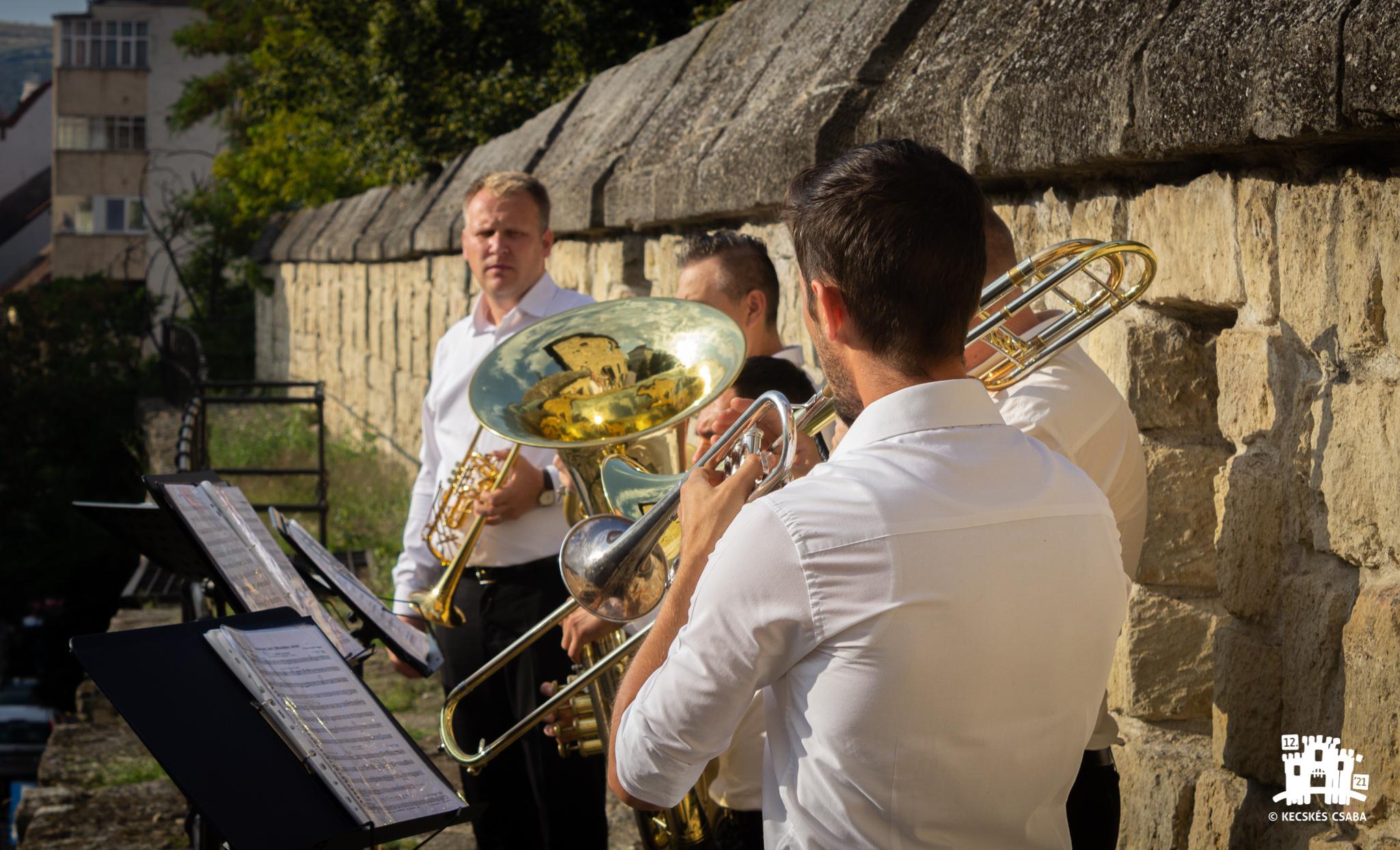 A Transilvania Philharmonic Brass koncertje