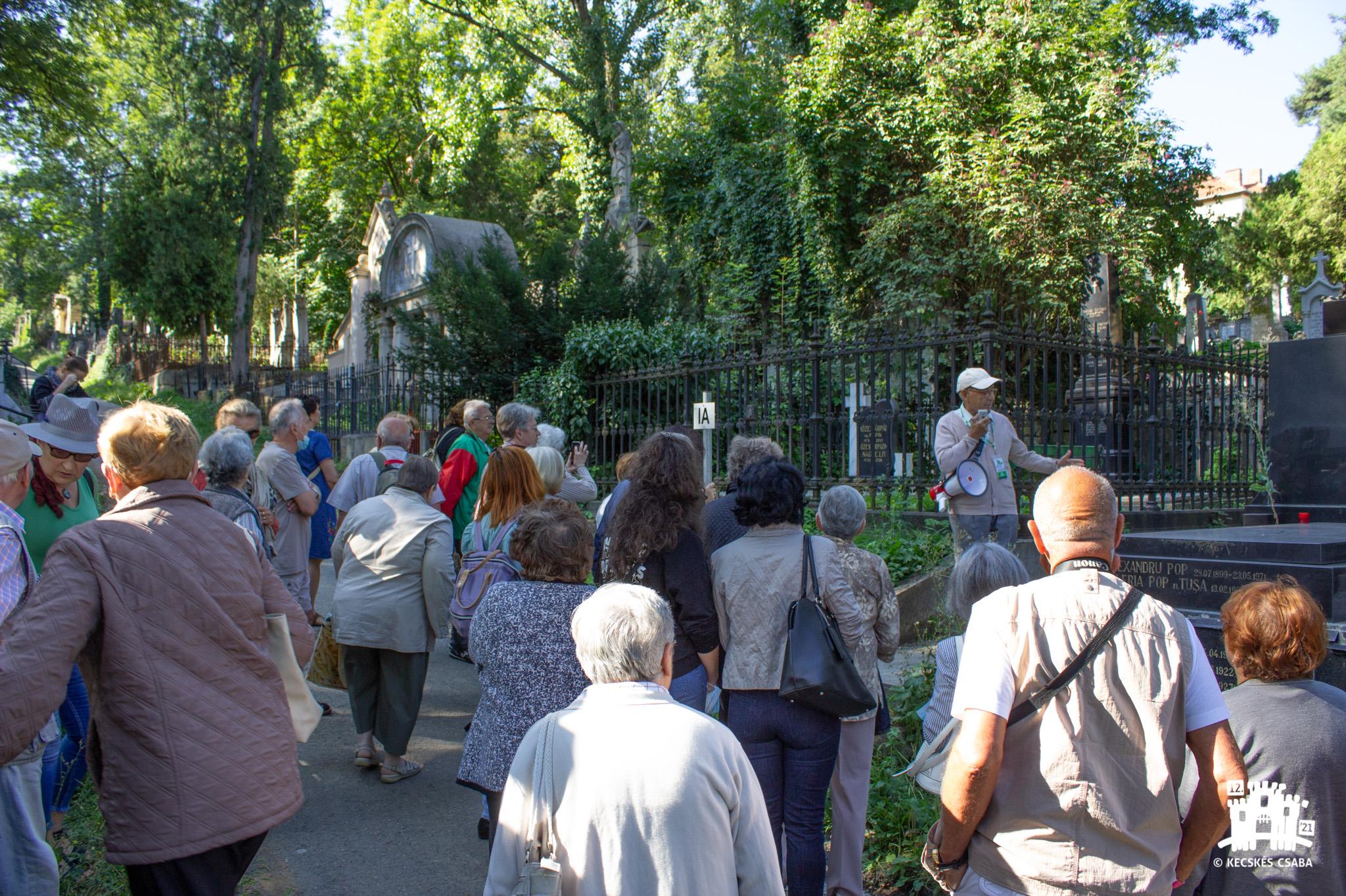 Püspöksírok nyomában a Házsongárdi temetőben